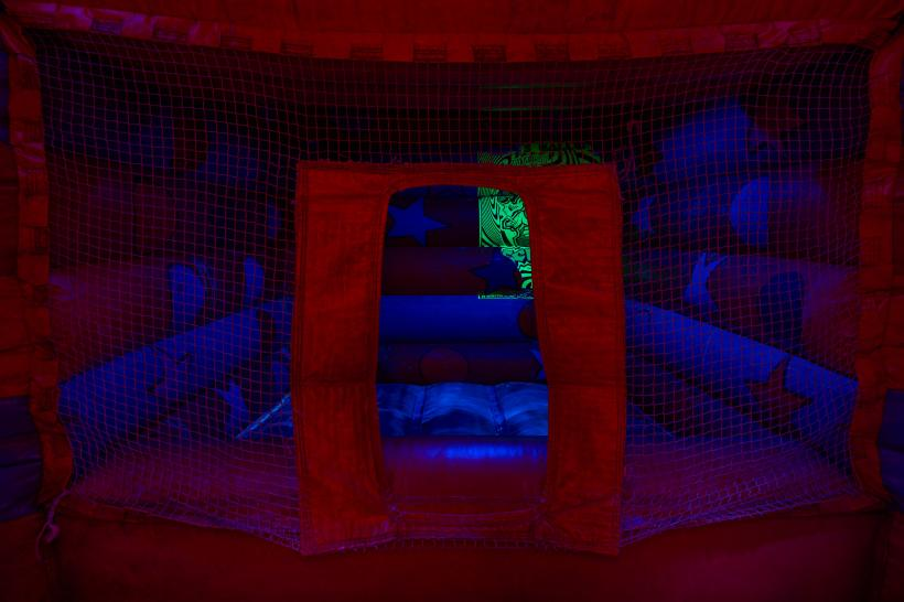 Patrick Goddard, Trip To Eclipse (2020), installation shot.