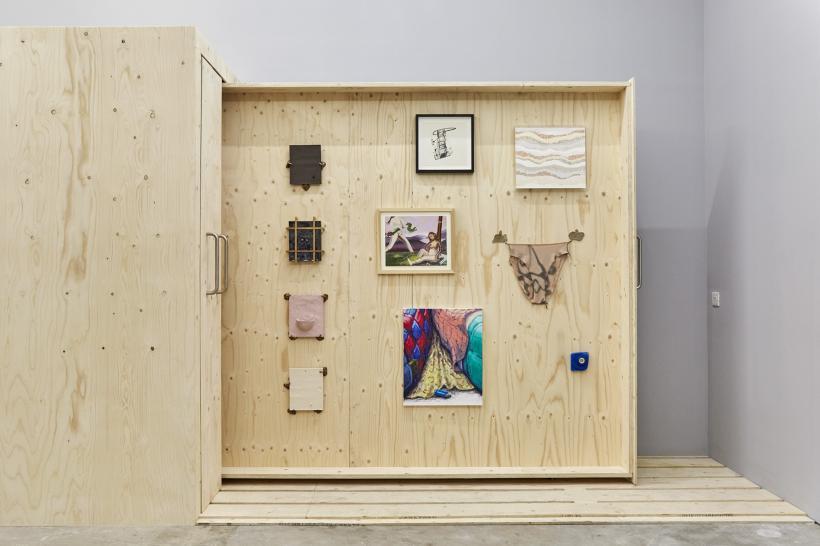 Installation View Nick Paton, Alan Magee, Simon Linington, Amanda Mostrom, Rafal Zajko, Willem Weissman, Sara Anstis