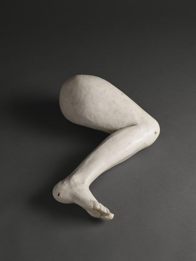 Noga (Leg), 1962, Plaster