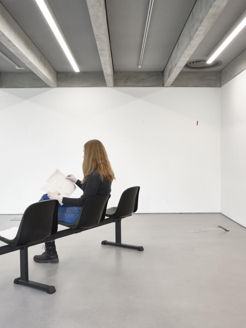 Sulaiman Majali: saracen go home, Collective, Edinburgh, installation photograph, 1 February — 29 March 2020