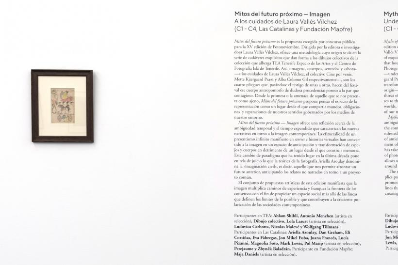 Collective Drawing, Installation View, IMAGE, TEA Tenerife