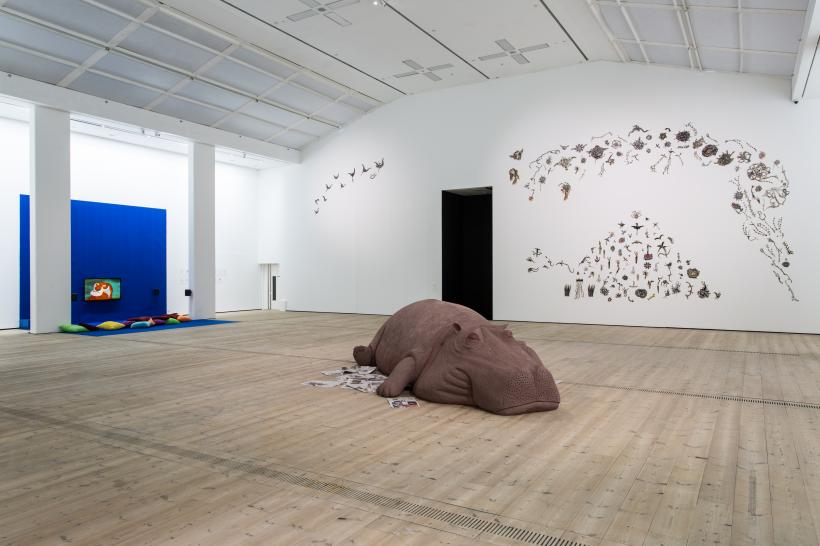 Animalesque / Art Across Species and Beings installation view, BALTIC Centre for Contemporary Art 2019.