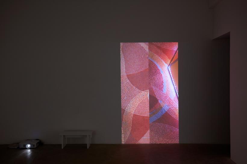 Rachel Lowe, Split, 2020, 4 channel video projection, sound