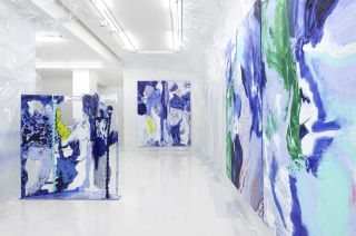 Donna Huanca: Wet Slit, Simon Lee Gallery London, installation view