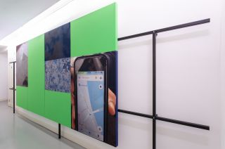 Installation view, HYPERSURFACE, Austrian Cultural Forum