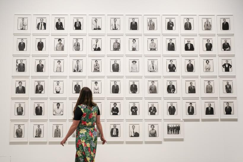 Masculinities: Liberation through Photography, Installation view, Barbican Art Gallery
