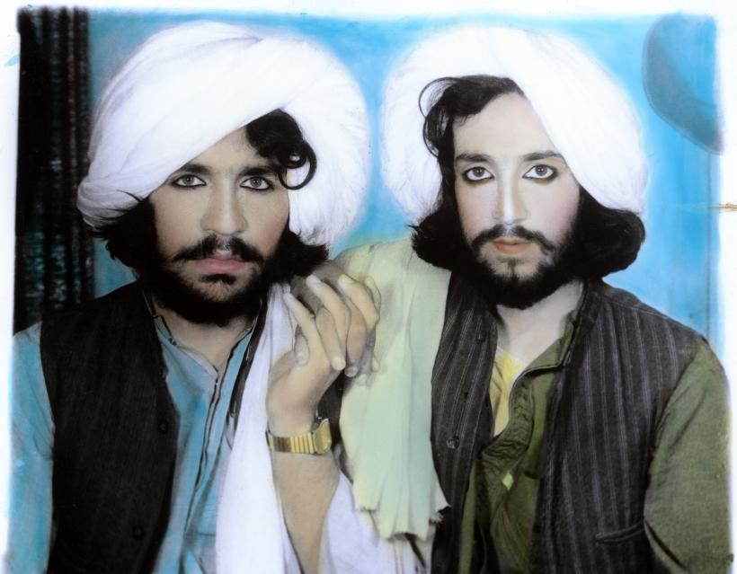 Thomas Dworzak, Taliban portrait. Kandahar, Afghanistan, 2002.