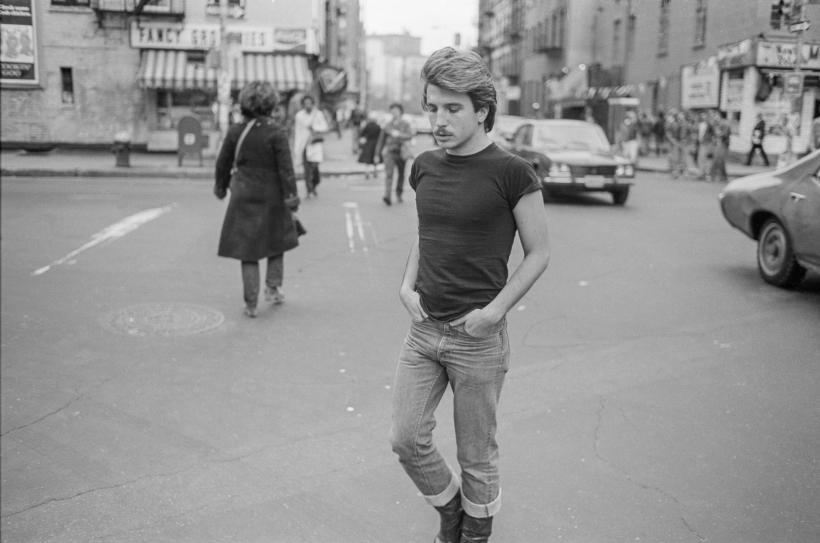 Sunil Gupta, Untitled 22, from the series Christopher Street, 1976