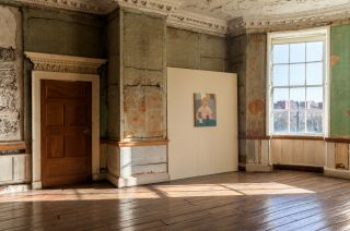 Sven Sandberg: They went and saw a palace hanging from a silken thread, installation photograph