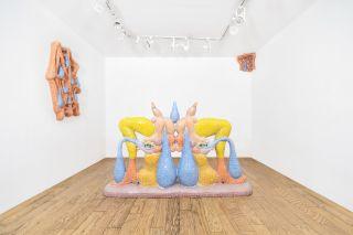 Glossy Inviolability, exhibition view at Elijah Wheat Showroom, New York, 2020