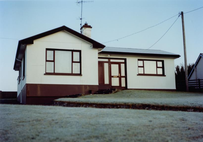 House in morning light