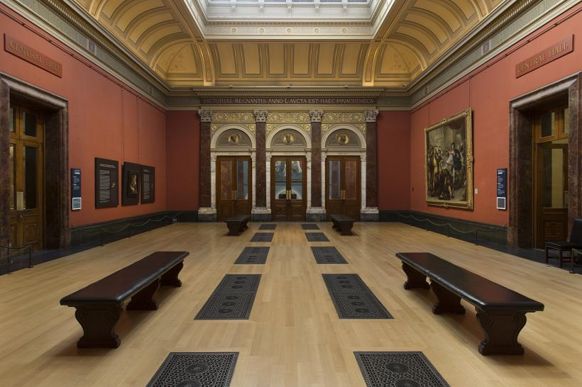 Central Hall at The National Gallery, London
