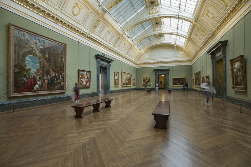 Room 9 at The National Gallery, London