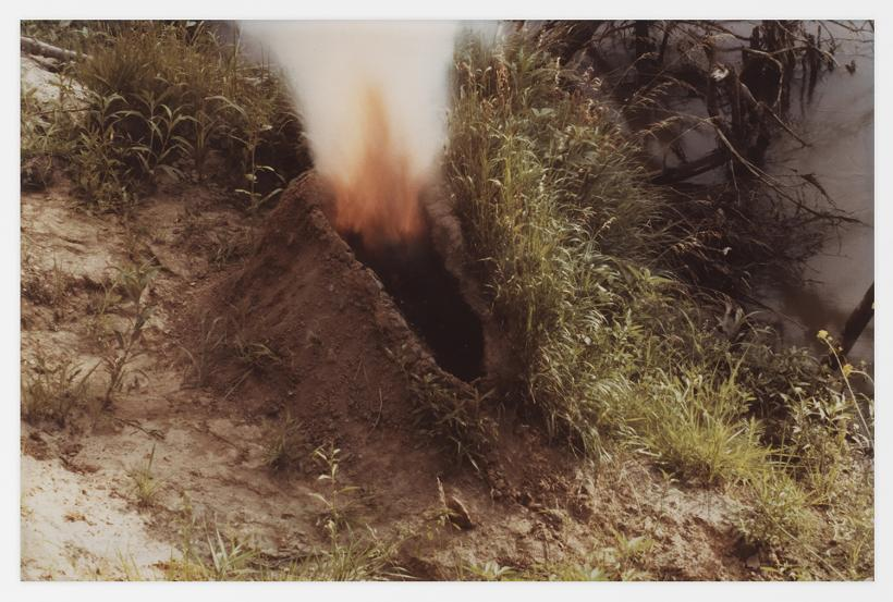 Ana Mendieta, Volcán , 1979. Colour photograph, 20.3 x 25.4 cm