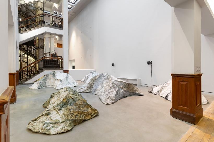Superhero Sighting Society, installation view, 2020