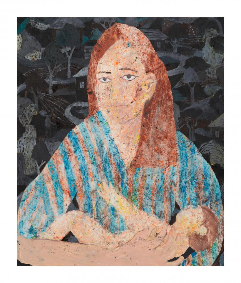 Tom Anholt, New Dawn, 2020, Oil on linen, 60 x 50 cm