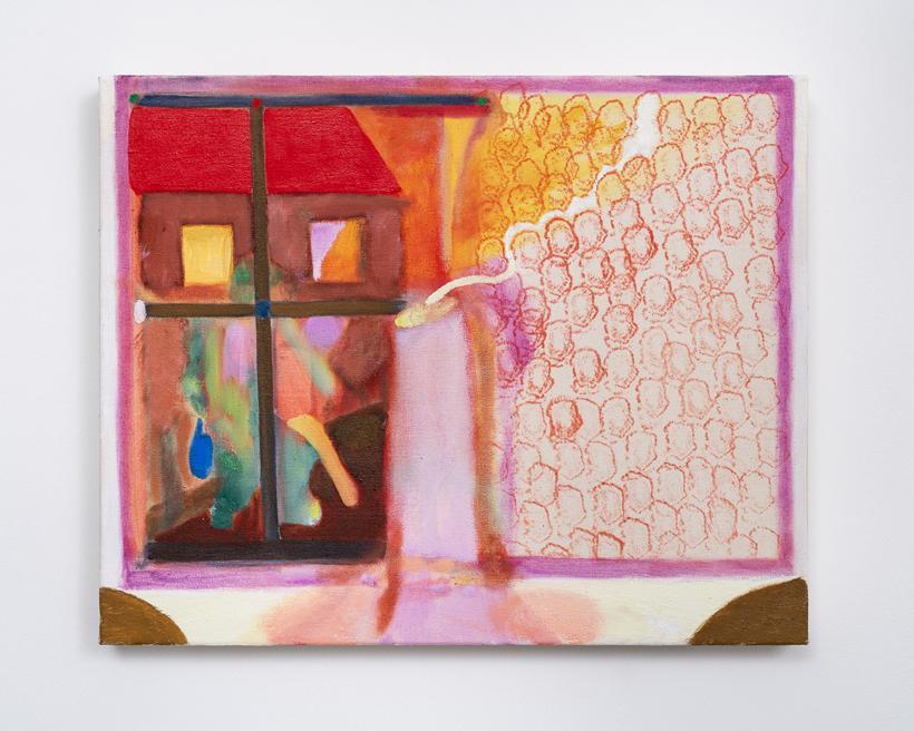 Gabriella Boyd, Set, 2020, Oil on canvas, 40 x 50 cm