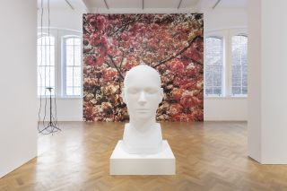 Installation view of Trevor Paglen: Bloom, Pace Gallery, 6 Burlington Gardens, London, September 10 - November 10, 2020.