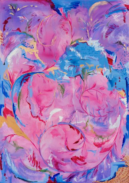 Michaela Yearwood-Dan, The Summit of Beauty and Love, 2020, oil on canvas, 170 x 120 cm