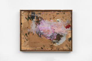Untitled, 2020, oil on cardboard, 39 x 50 cm