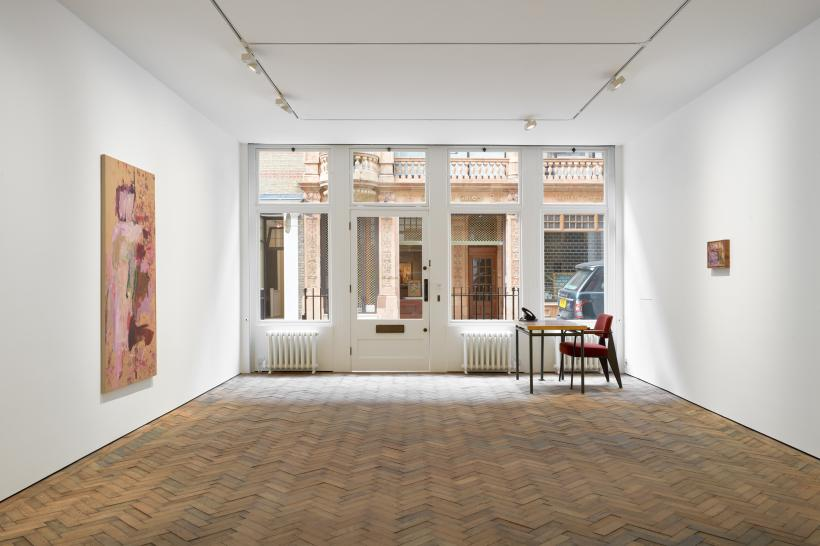 Recent Paintings, exhibition view, Modern Art, Bury Street, London, 29 July - 26 September 2020