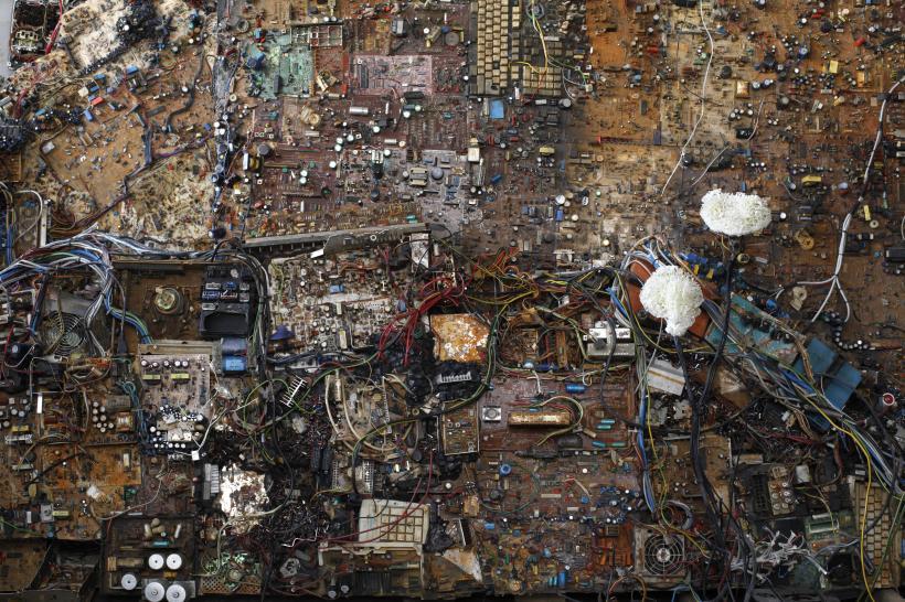 Postnaturalia (installation) (2016-17) Mixed media