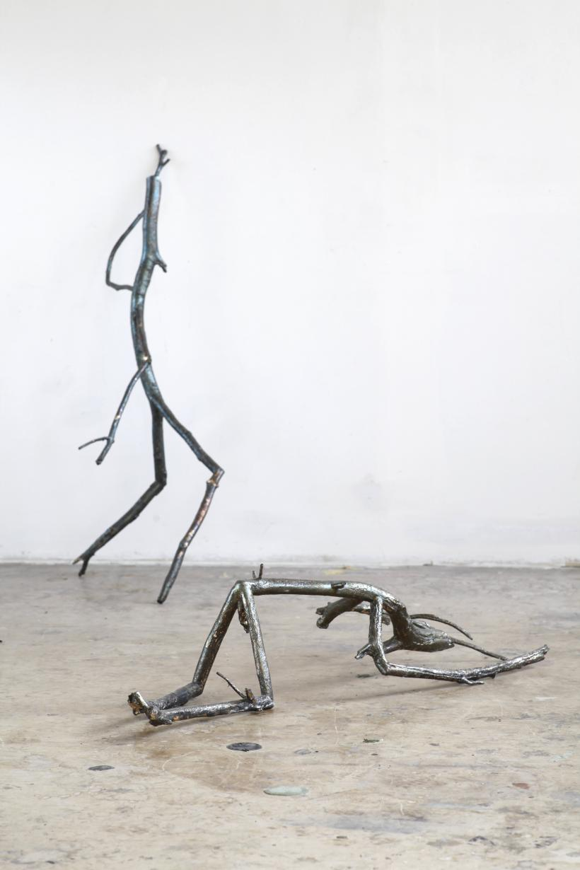 Nervous Trees (2013) Electromechanical sculptures