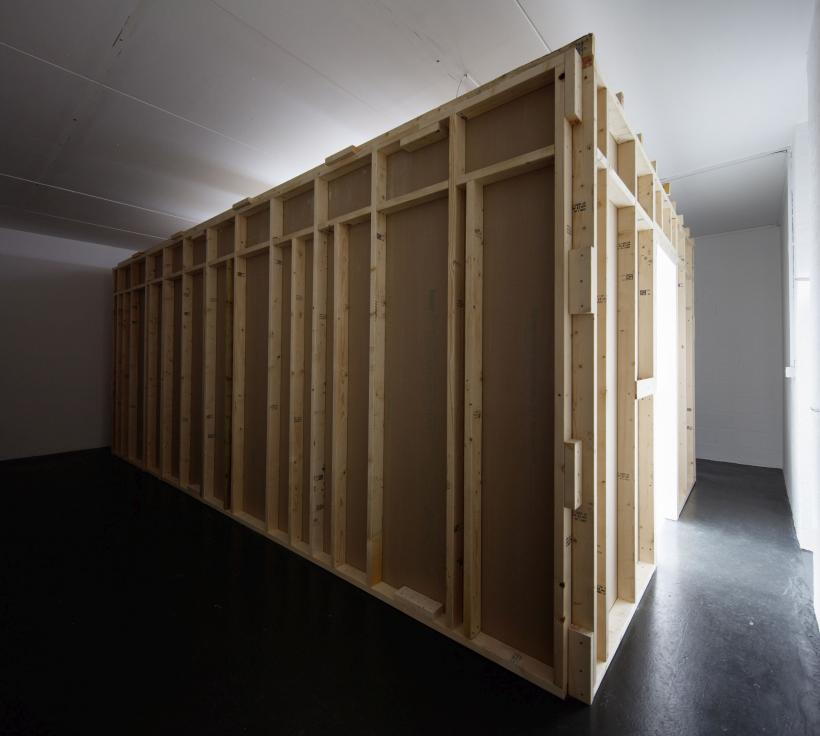 Installation view, Sung Tieu, What is your |x|?, Emalin, London, 19 September - 7 November 2020