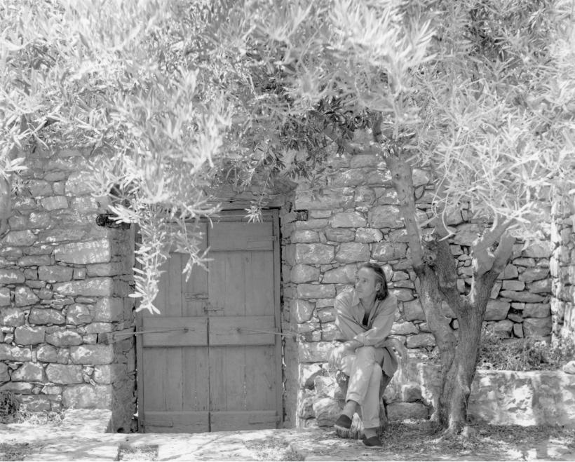 BRICE MARDEN, Hydra, Greece, 1990, Photo: Bill Jacobson, copyright Brice Marden Studio, Courtesy Gagosian