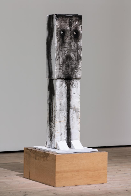 Huma Bhabha Untitled 2006, Courtesy Peter Blum Gallery, New York Huma Bhabha Against Time, BALTIC Centre for Contemporary Art 2020.