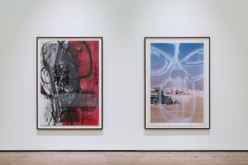 Huma Bhabha Untitled 2013 and Untitled 2011, Courtesy the artist and Salon 94, New York. Huma Bhabha Against Time, BALTIC Centre for Contemporary Art 2020.