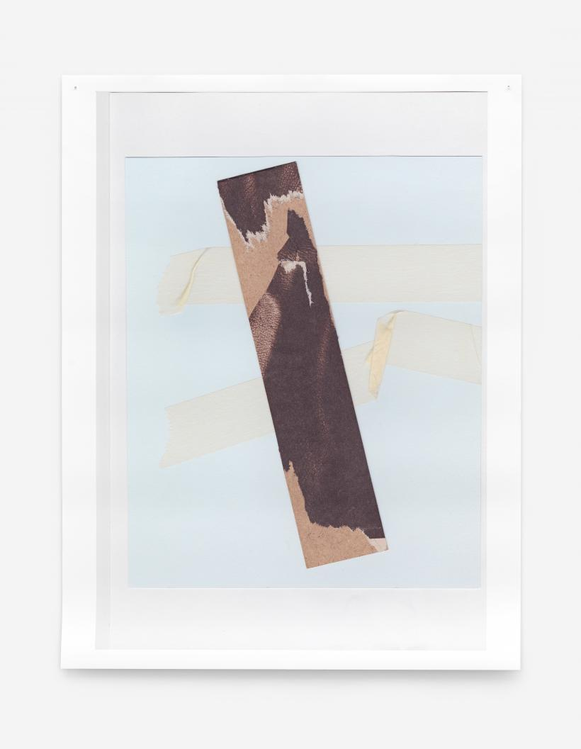 Untitled (skin), 2013. Two archival inkjet prints, oak frame. Courtesy of the artist and Tanya Leighton, Berlin.