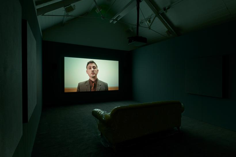 Guy Oliver, You Know Nothing of My Work, 2020. Commissioned for Jerwood/FVU Awards 2020: Hindsight. Supported by Jerwood Arts and Film and Video Umbrella. Photo: Anna Arca