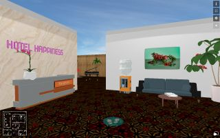 Hotel Happiness, Lobby, Installation View