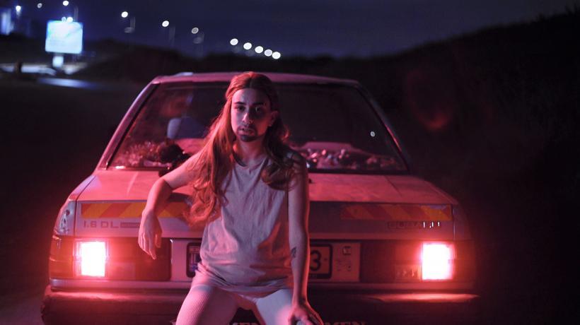 Tamar Katz, The Cliff, video still, 2020