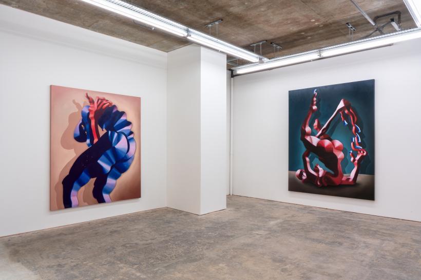 Cathrin Hoffmann, IT STILL SMELLS OF NOTHING, Installation Shot 1, 2020, Courtesy PUBLIC Gallery
