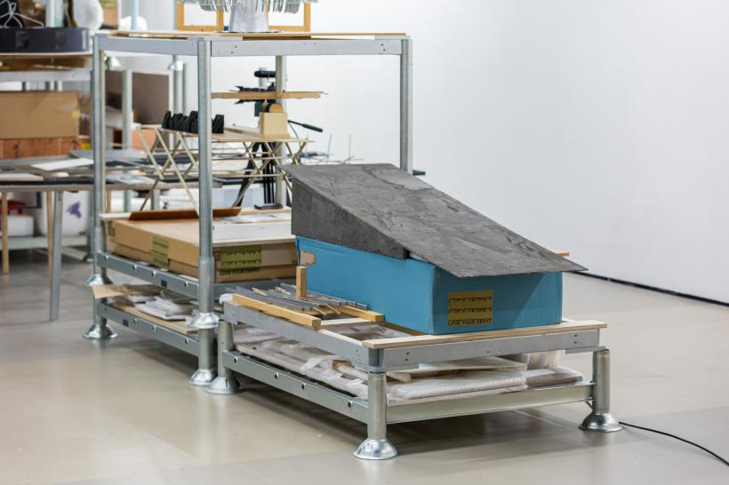 Installation view, 2020 Artist of the Year: Jewyo Rhii (2020), Courtesy the artist and Korean Cultural Centre UK