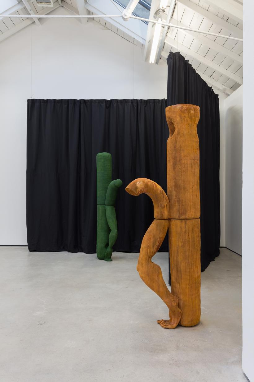 Jesse Wine, Installation view, 'Carve a Hole in the rain for yer', The Modern Institute, Osborne Street, Glasgow, 2021