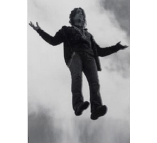 Timothy Taylor Gallery, Susan Hiller, Homage to Yves Klein; Levitation (Man)