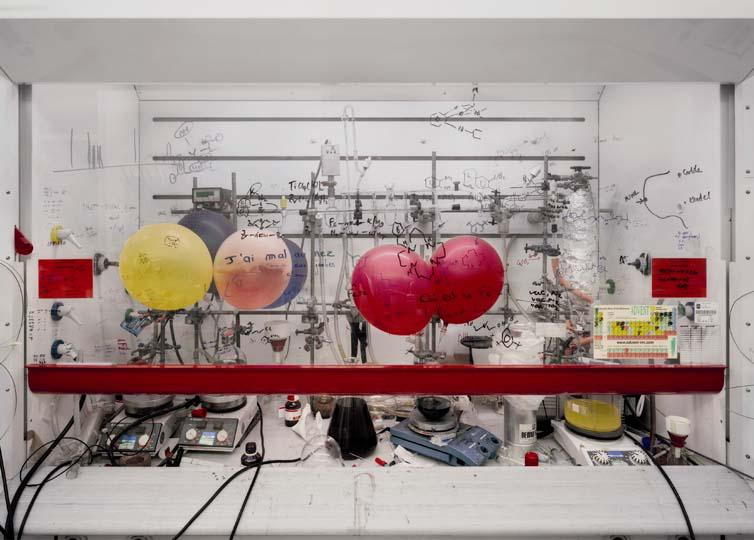 Thomas Struth Chemistry Fume Cabinet 2010