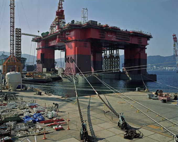 Thomas Struth Semi Submersible Rig 2007