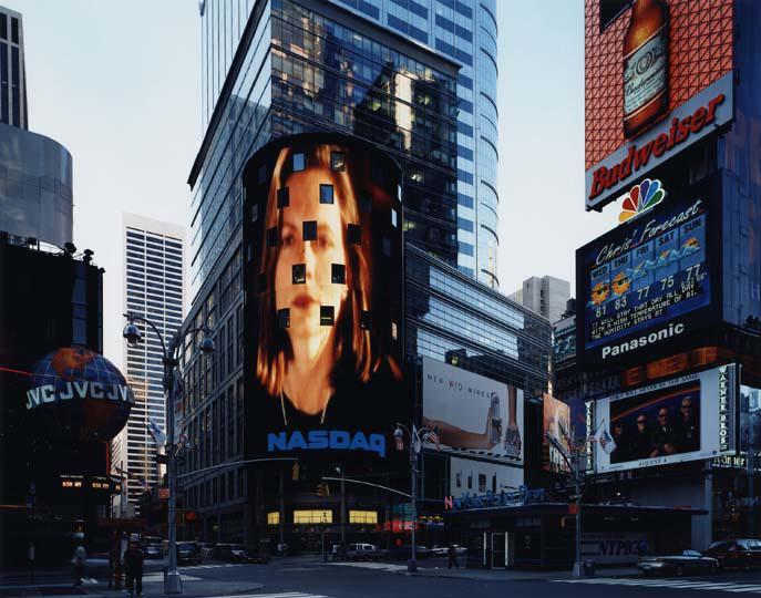 Thomas Struth Times Square 2000