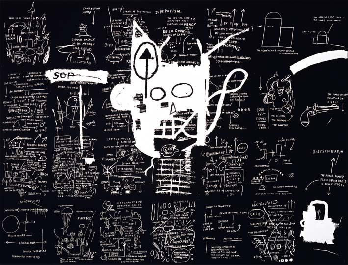 Basquiat, Untitled, 1983