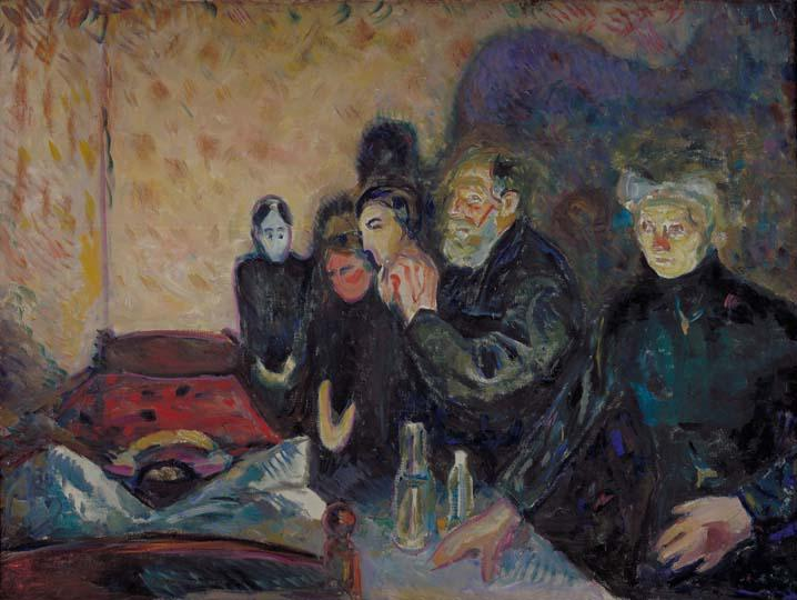 Schirn Presse Munch Death Struggle 1915 01