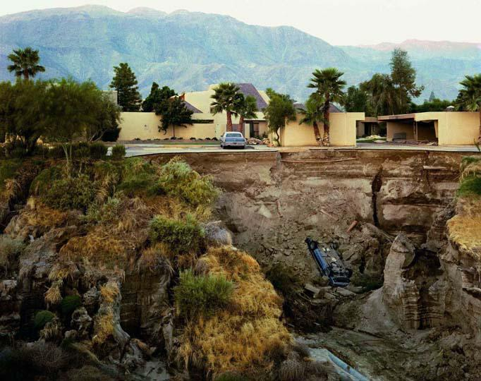 After A Flash Flood, Rancho Mirage, California 1979  Joel Sternfeld and Glenstone Museum, Potomac, Maryland