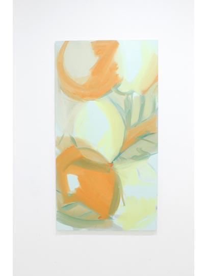 Oranges Lemons 4, oil on canvas, 75x140cm, 2011