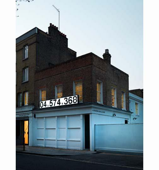 SANTIAGO SIERRA, Dedicated to the Workers and Unemployed, Installation view, Lisson Gallery, London 2012 4