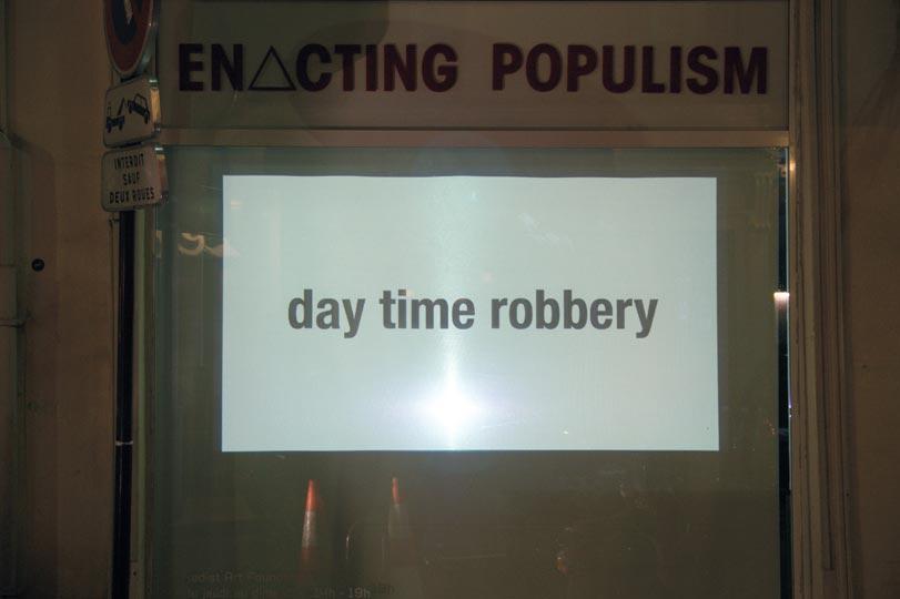 Robbery Ressler Kadist