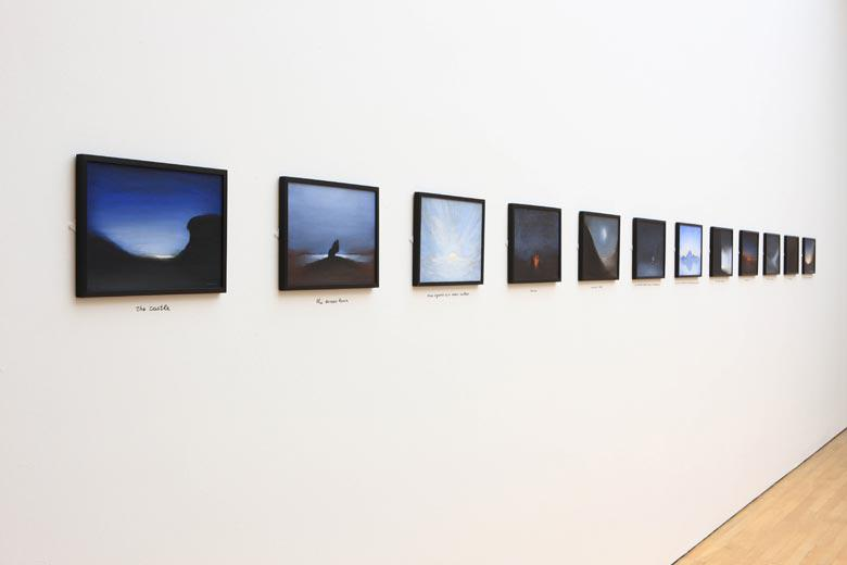 Studies for romantic landscapes with missing parts, 2000