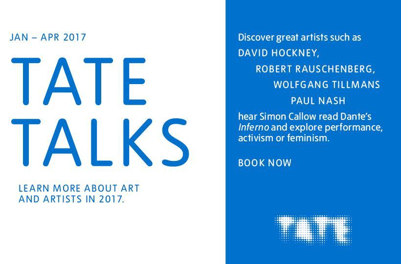 Tate talks